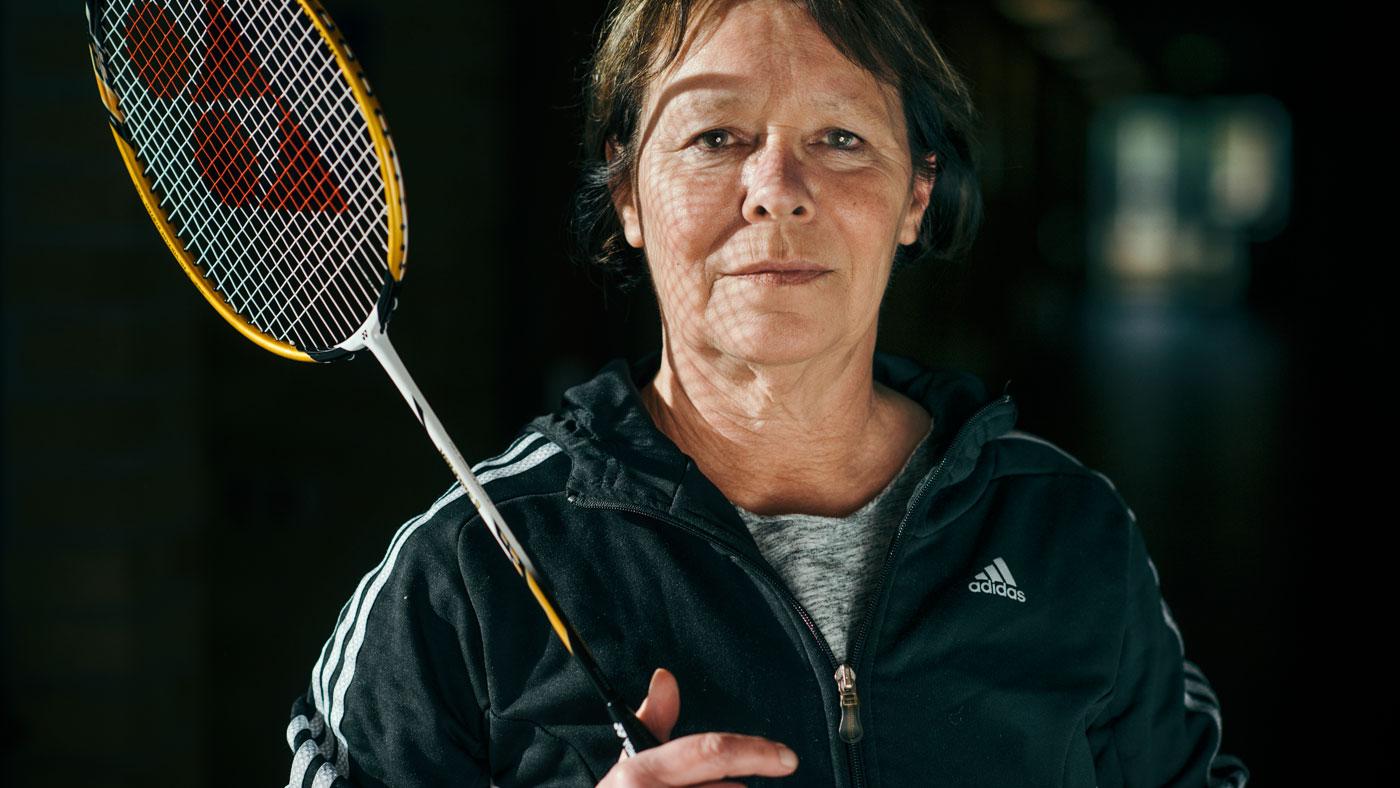 """""""Jeg har altid en genoplivningsmaske i mit nøglebundt"""" - Inge Hjorth-Westh, 58 år, lærer. Bor i Svendborg."""
